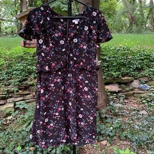 Short Sleeve Floral Ladies Cute & Stylish Dress